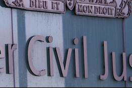 A Court sign
