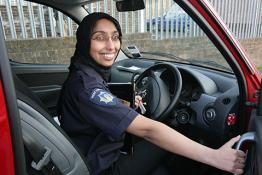 female fire officer