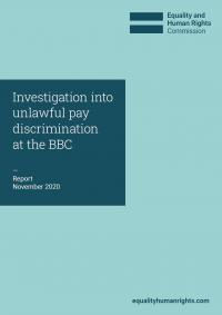 Front cover of BBC investigation report