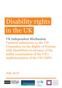CRPD cover page