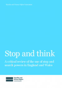 This is the cover of Stop and Think publication