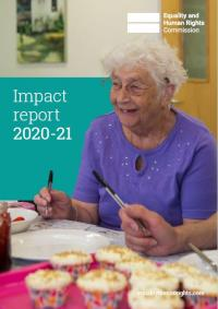 Impact report 2020-21 cover