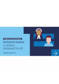 Inclusive justice: a system designed for all