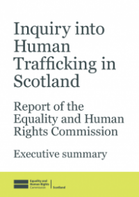 This is the Inquiry into human trafficking in Scotland executive summary