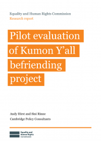 Publication cover: Pilot evaluation of Kumon Y'all befriending project