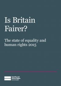 Publication cover: Is Britain fairer?
