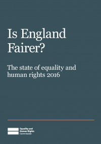 Publication cover: Is England Fairer?