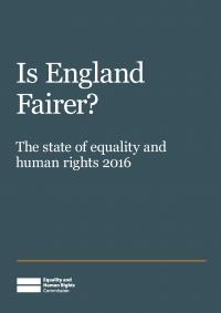 Publication cover: Is England Fairer?