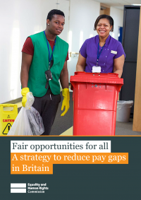 Publication cover: Fair opportunities for all: A Strategy to reduce pay gaps in Britain