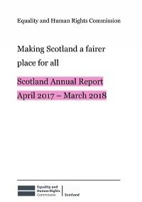Cover of Scotland Annual Report