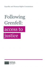 following grenfell briefing access to justice