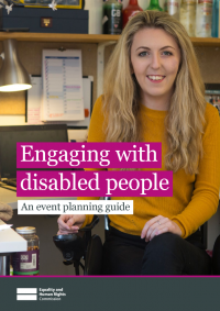 housing and disabled people engaging with disabled people event planning guide