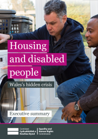 housing and disabled people wales hidden crisis executive summary