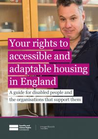 housing and disabled people your rights england