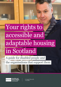 housing and disabled people your rights scotland