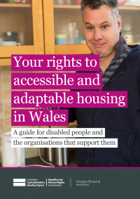 housing and disabled people your rights wales
