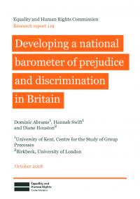 national barometer of prejudice and discrimination in britain