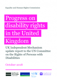 progress on disability rights in the uk crpd shadow report