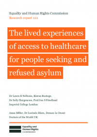 research report 122 people seeking asylum access to healthcare lived experiences