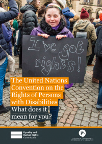 the united nations convention on the rights of persons with disabilities what does it mean for you