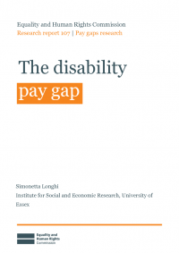 the disability pay gap