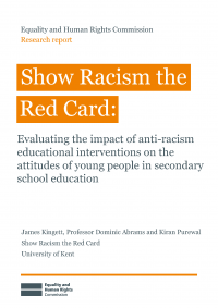 Publication cover: Show Racism the Red Card