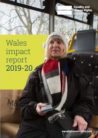 Wales impact report 2019 to 2020 cover