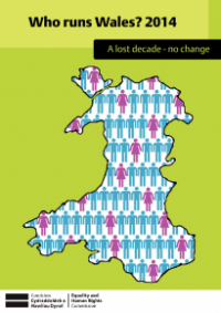 This is the cover of Who runs Wales 2014 publication